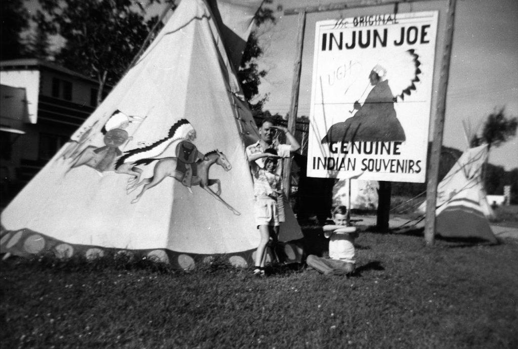 File photo of Injun Joe at his teepee.