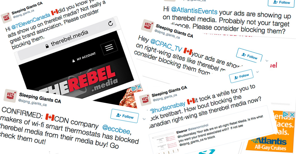 There's A Campaign Urging Advertisers To Boycott Rebel Media