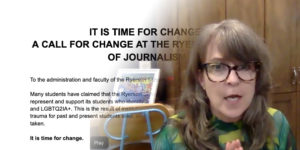 Reckoning and Upheaval at Ryerson's J-School